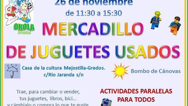 La Asociación Cáceres Okola En Juguetes De Mercadillo Organiza Un GUzLpqSMV