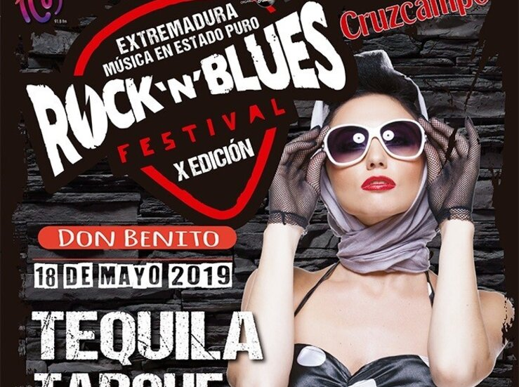Tequila Tarque Danza Invisible Fever Band y Tennessee cartel Rock N Blues Festival