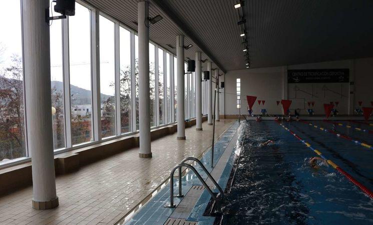Mejoras piscina climatizada del centro tecnificaci n for Piscina climatizada merida