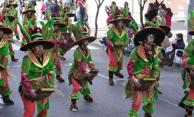 carnaval badajoz desfile 2018