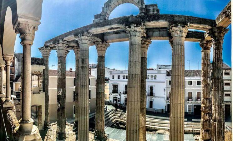 Inaugurado el Centro de Interpretación del Templo de Diana en Mérida