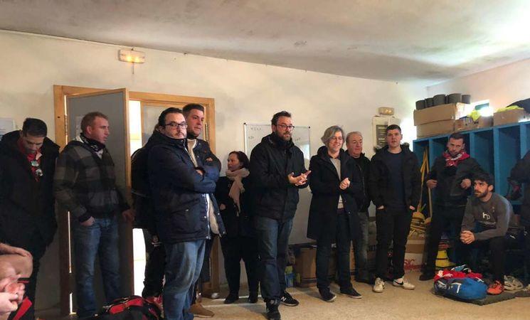 Leire Iglesias Anuncia La Construcción De Un Campo De Césped