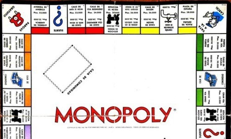 Resultado de imagen de monopoly españa tablero