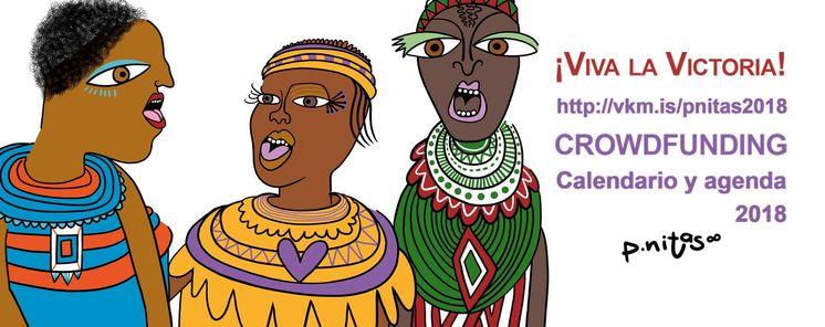 La ilustradora extremena pnitas lanza un crowdfunding feminista