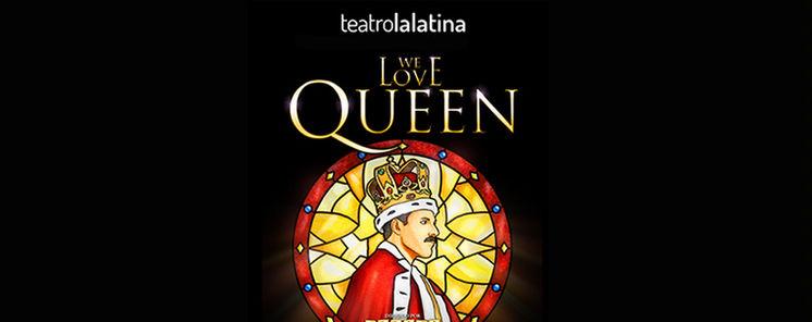 Carme Chaparro madrina en el estreno benfico de We Love Queen