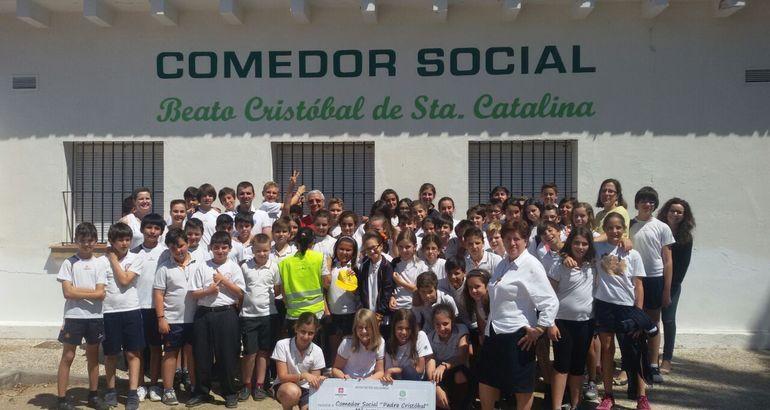 Alumnos de 6 de educaci n primaria del colegio salesiano for Proyecto comedor social