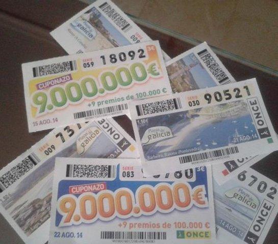 El cuponazo de la once reparte euros en m rida for Emprunter 300 000 euros