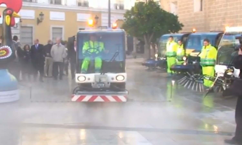 Ccoo desconvoca la huelga de limpieza viaria de fcc en badajoz for Empresas de limpieza en badajoz